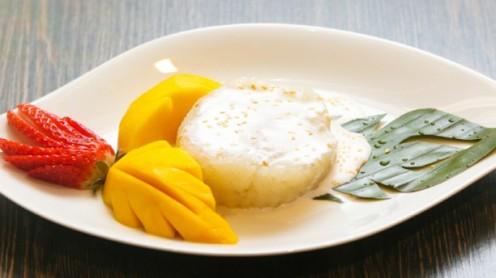 mangue au riz coco